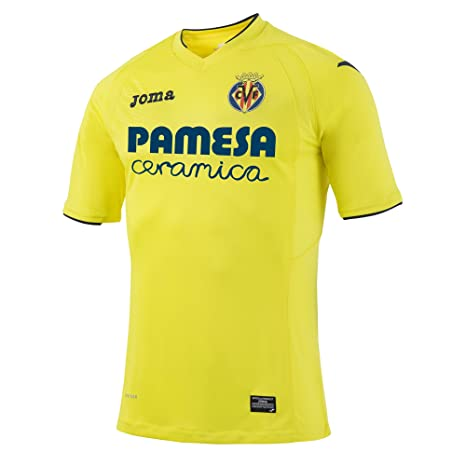 068c6d658 Amazon.com   Joma 2016-2017 Villarreal Home Football Shirt   Sports ...