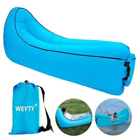 Sofa Hinchable,WeyTy tumbona hinchable sofa inflable,portátil ...