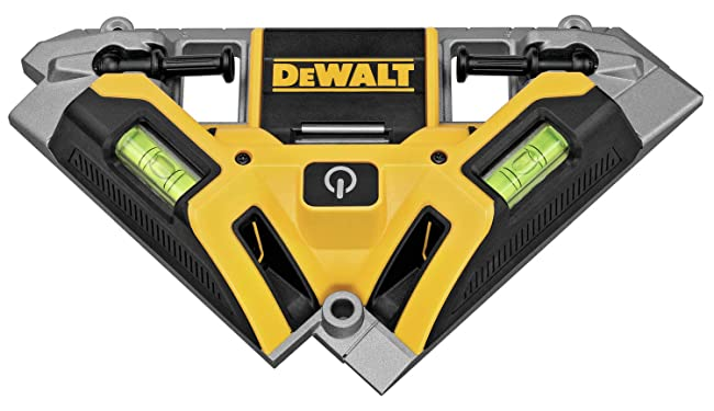 Best Laser Level For Tiles: DEWALT DW0802 Laser Square