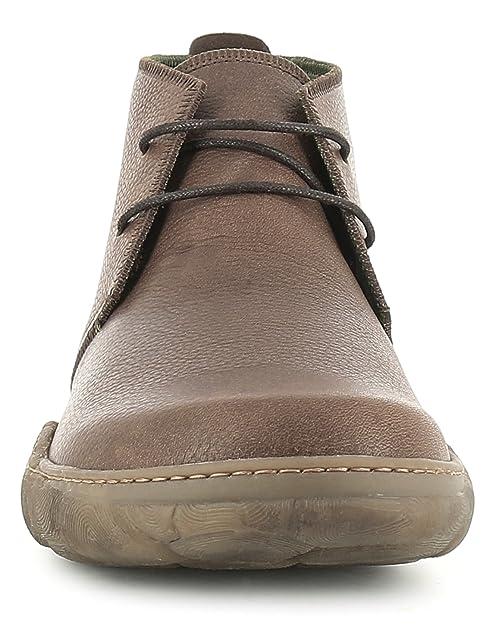 Homme Grain Bottines Amazon Brownturtle Lacets 46 Brun Soft N5085 6HqRII