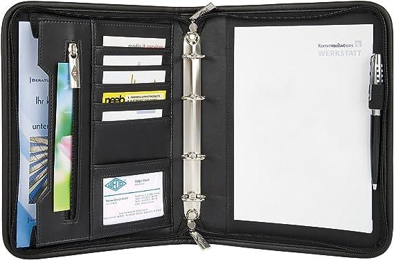 Wedo 585101 - Organizador (archivador de 4 anillas, tamaño A5 ...