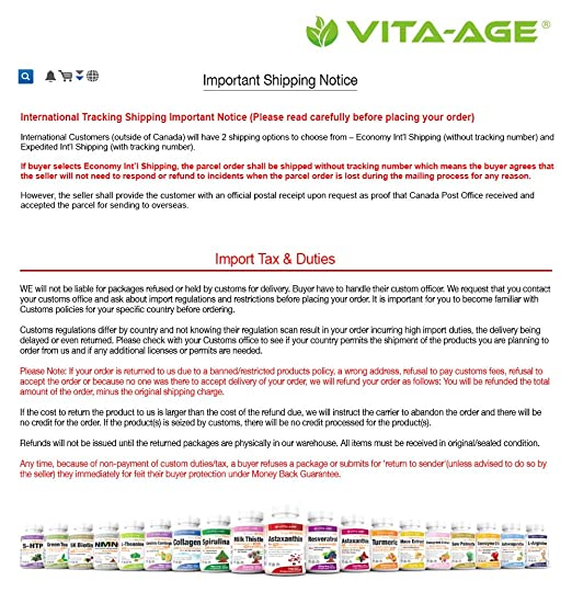Vita-Age NMN Lab Tested 294mg Serving with 8mg Astaxanthin (Highest Purity  Nicotinamide Mononucleotide) Boost NAD+ Support Metabolism (147mg Per Cap,