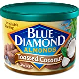 Blue Diamond Gluten Free Almonds, Toasted Coconut, 6 Ounce