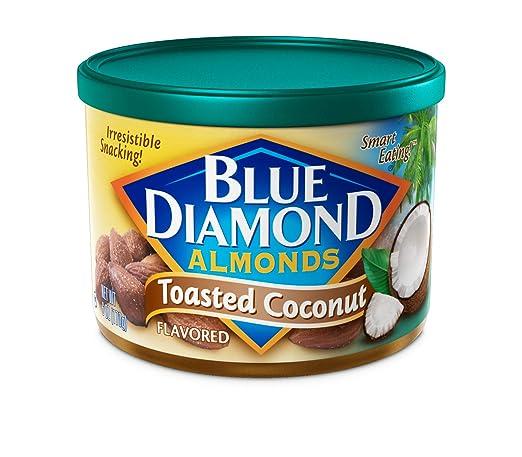 are blue diamond toasted coconut almonds gluten free