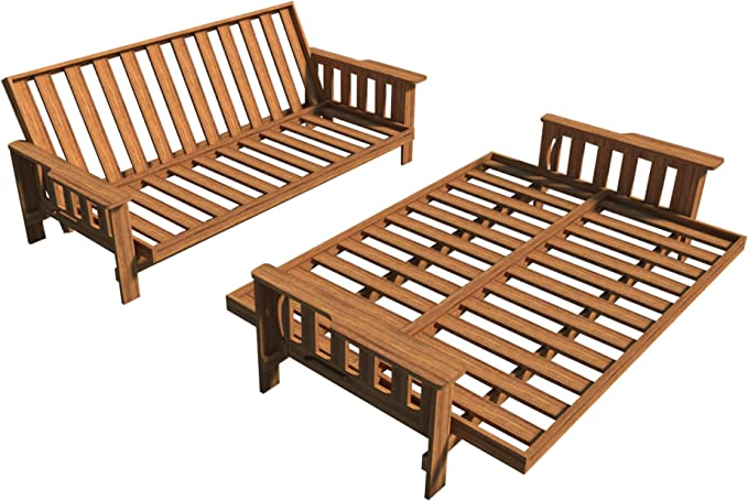 Planes de sofá cama Futon DIY tumbona sofá cama Sleeper muebles ...