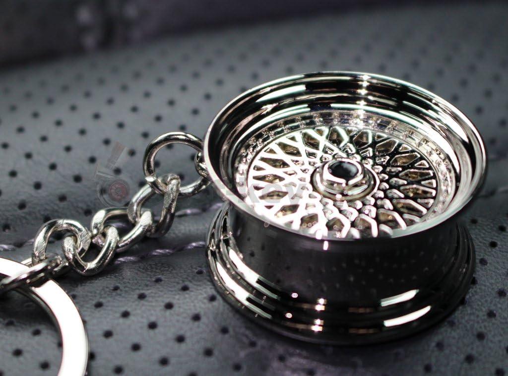 Vmg Store Speichenfelge Style Chrom Felge Schlüsselanhänger Massiver Anhänger Oem Vag Dub Auto