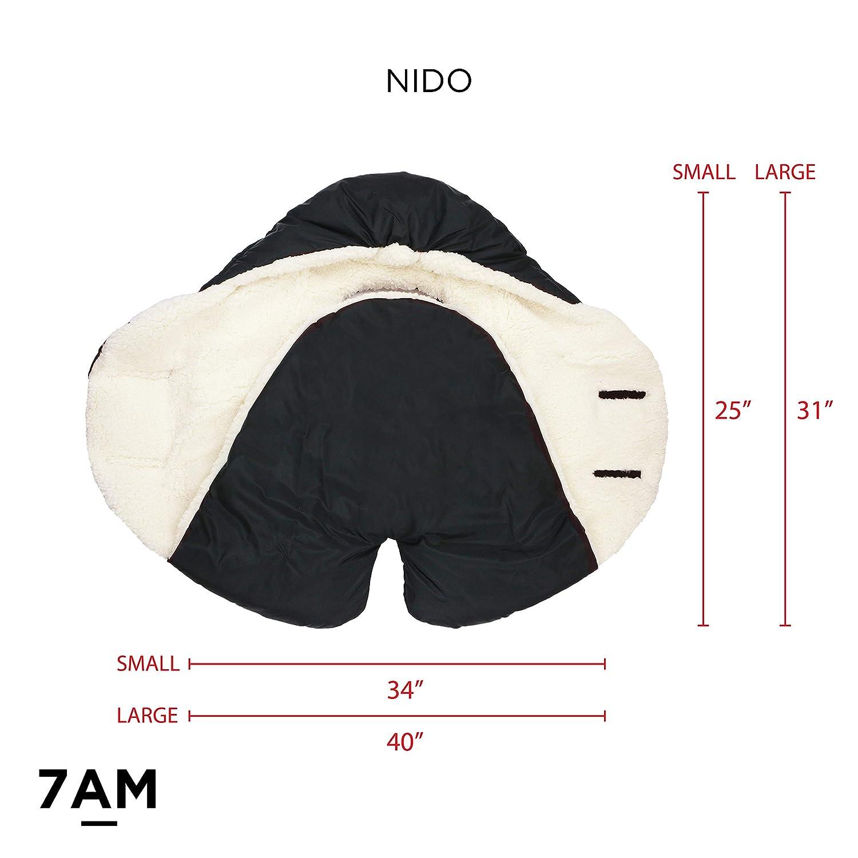 Enfant Nido Quilted Teal, Large 7 A.M