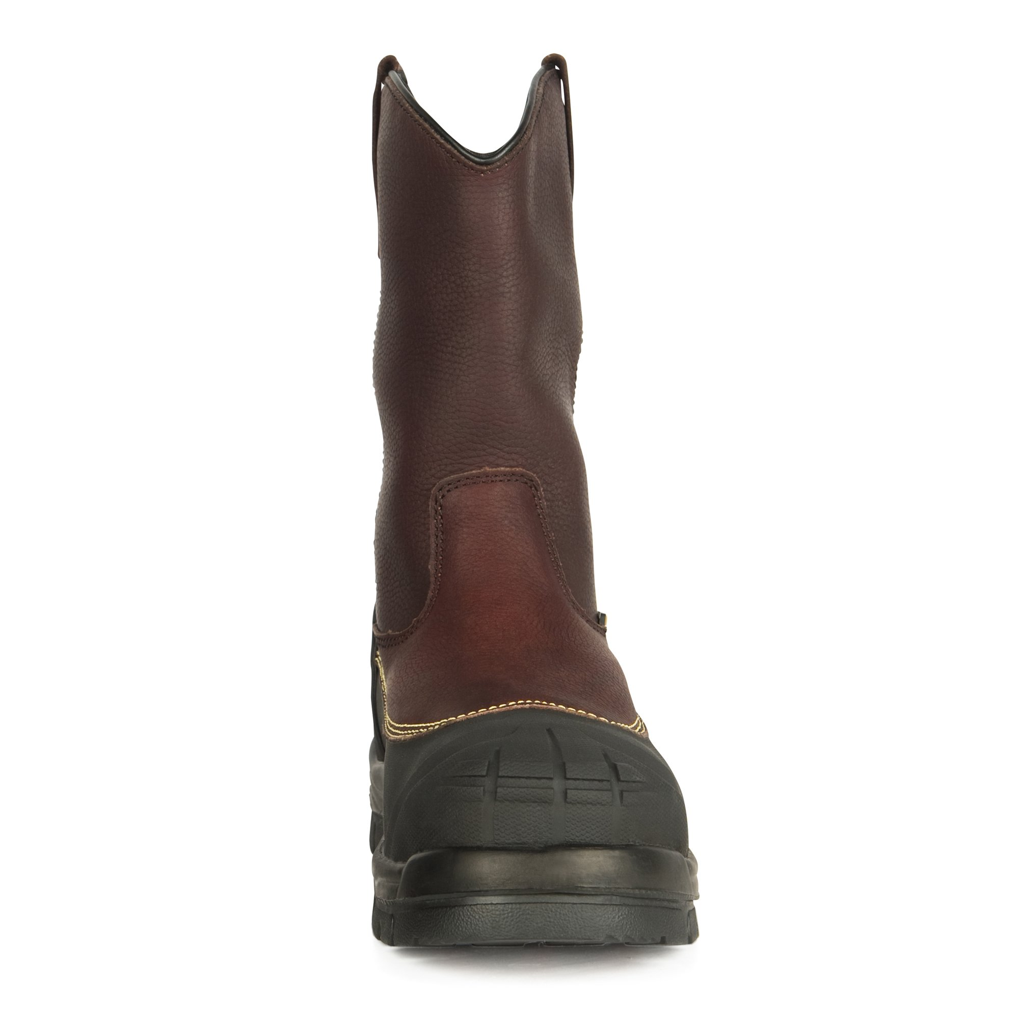 Oliver 65 Series 10'' Leather Chemical-Resistant Puncture-Resistant Steel Toe Pull-On Men's Metatarsal Boots, Brown (65396) by Honeywell (Image #5)