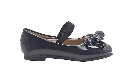 05d3b74ca055c bebe Toddler Girls Ballet Flats Glitter Bow Mary Jane Ballerina Shoes