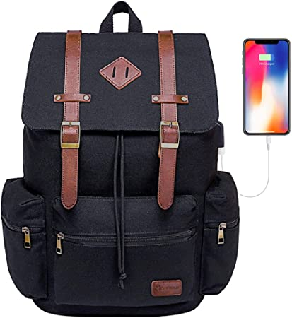 Black Bag Rustic Deer On Wood Old Wooden Rucksack Sack Computer Travel School Gym Backpack for Students Mens Womens