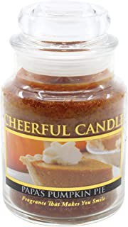 product image for A Cheerful Giver 6oz Papa's Pumpkin Pie Cheerful Jar Candle, Brown,CB10