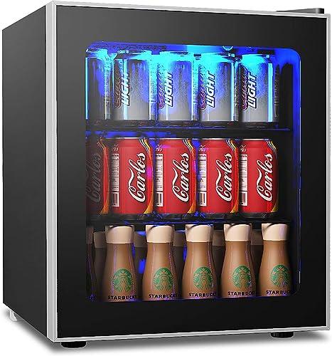 COSTWAY-Beverage-Refrigerator-and-Cooler