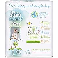 Sleepy Bio Natural Junior 5 Beden 4'lü Jumbo Bebek Bezi 11-18 kg 80 Adet No_color 5 Beden