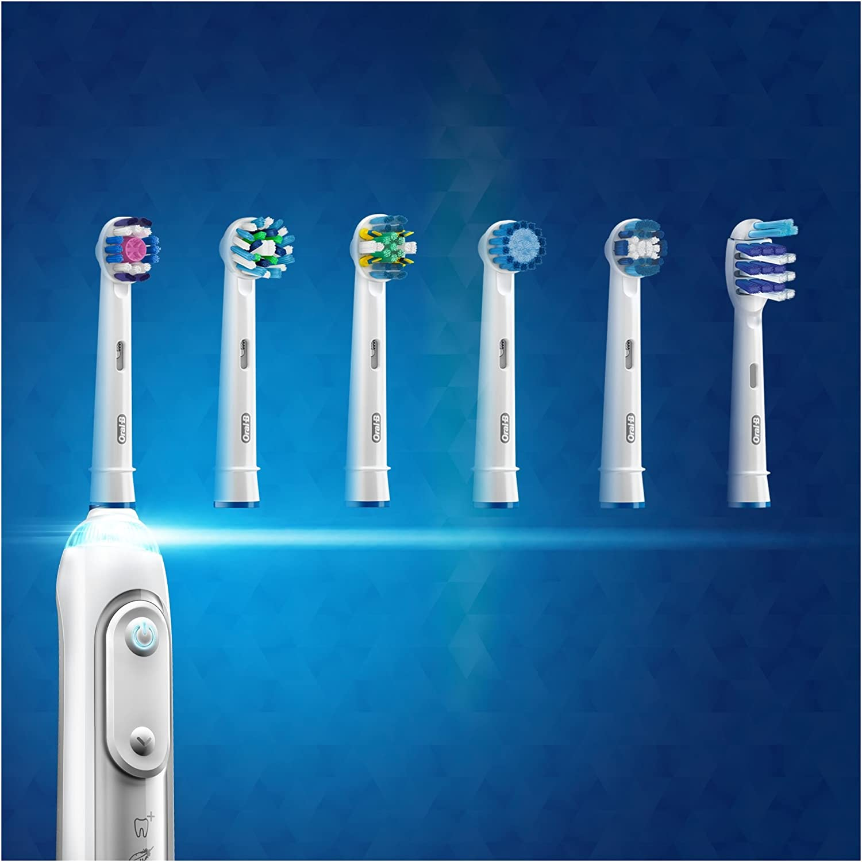 4 x Testa di ricambio per Braun Oral B PROFESSIONAL CARE TRIUMPH