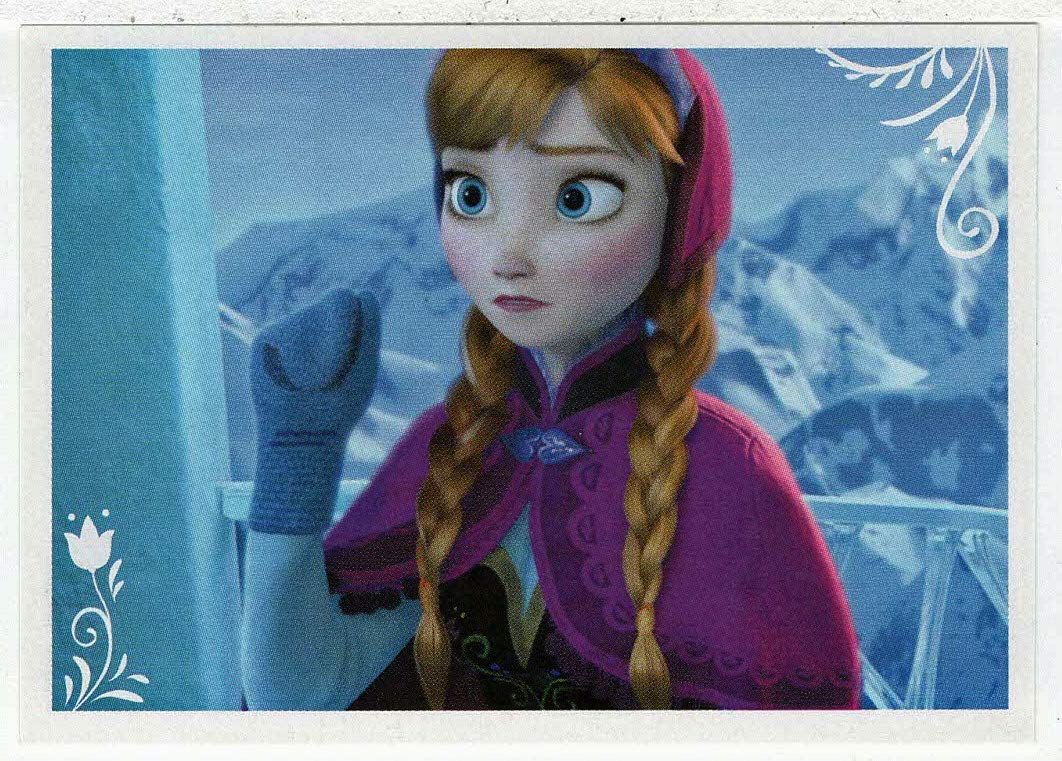 Frozen - Enchanted Moments (Trading Card/Sticker) # 77 (Base) Panini 2014