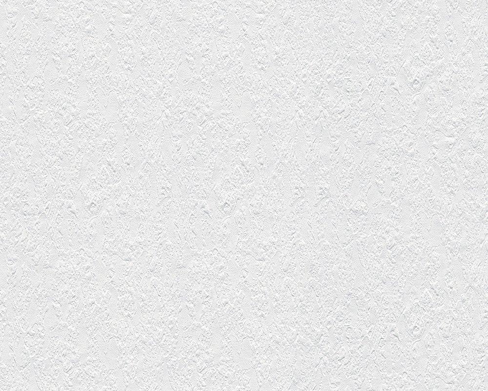 18 A.S Cr/éation Papier Peint Intiss/é Meister /ökotapete Papier peint 10,05/x 0,53/m Blanc fabriqu/é en Allemagne 141118/1411