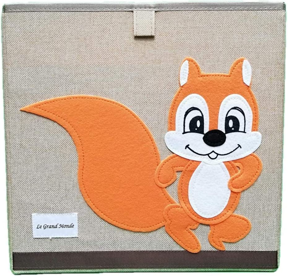27 VARIACIONES] Fuerte Caja De Almacenamiento De Cubo Plegable Para Juguetes Animal Niños 33x33 cm: Amazon.es: Bebé