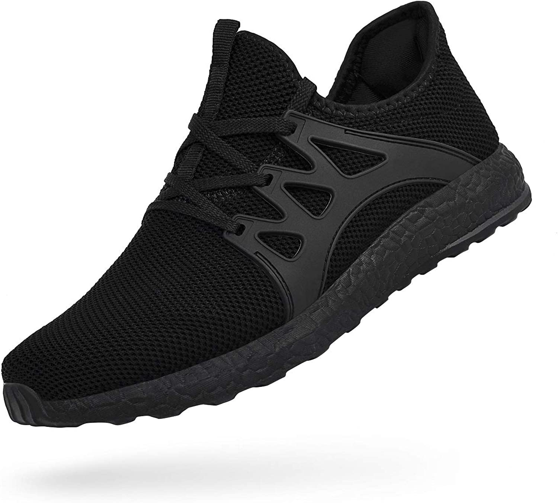 Black Size 7 US Troadlop Mens Sneakers Mesh Breathable