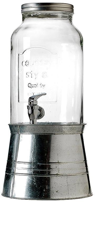 Dispensador de bebida Vintage con grifo