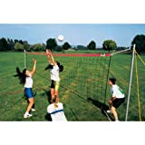 Volleyball Standard Leisure Net Set (9.5m L) for beach, grassed areas or leisure parks