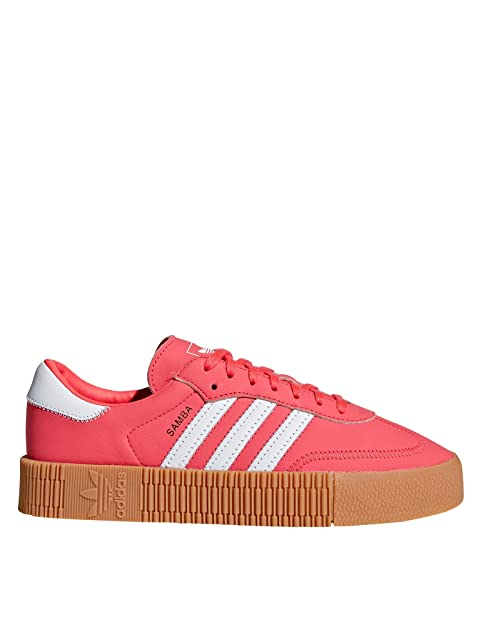Adidas Sambarose W Shock Red White Gum 37: : Schuhe