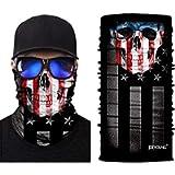 JOEYOUNG 3D Face Sun Mask, Neck Gaiter, Headwear, Magic Scarf, Balaclava, Bandana, Headband Fishing, Hunting, Hiking…