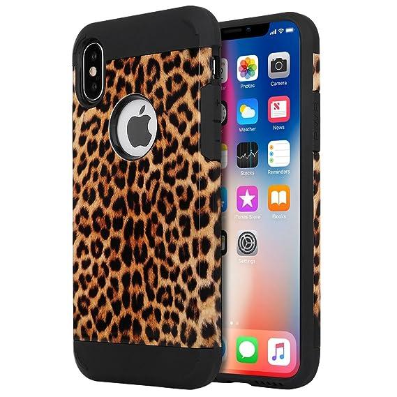hot sales 4070d 4433b iPhone X Case, iPhone 10 Case, LOEV Shock Proof Dual Layer Hybrid  Protective Case Hard PC & Soft Rubber Scratch Resistant Cover Tough Bumper  Armor ...