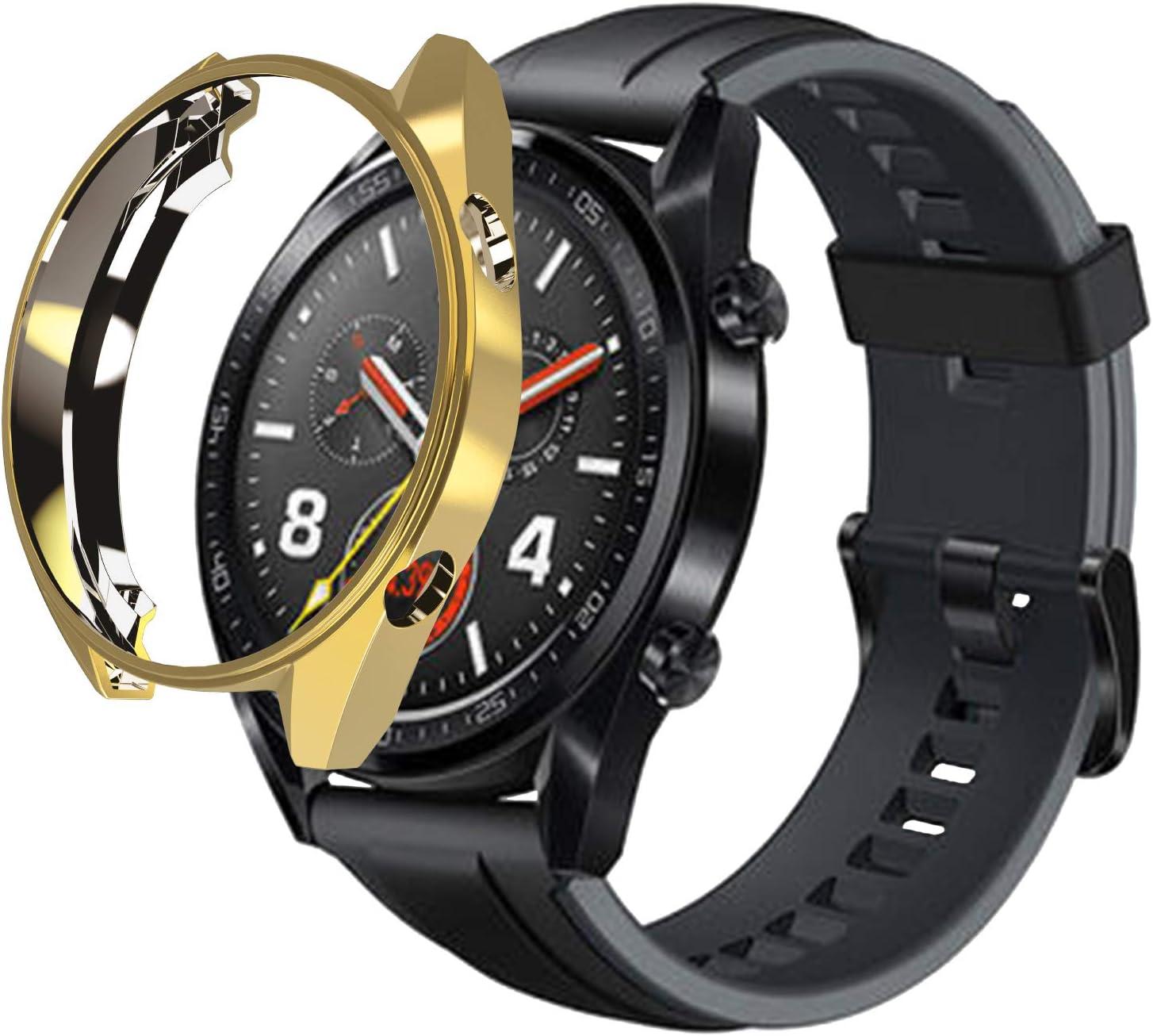 RLTech Huawei Watch GT Active Funda, Protector Pantalla y Ultra ...