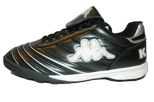 Kappa Zapatillas Fútbol Sala Niño Color Negro Blanco Negro Size: 40: Amazon.es: Zapatos y complementos