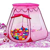 Bat Top Pink Princess Tent Indoor & Outdoor (Pink)