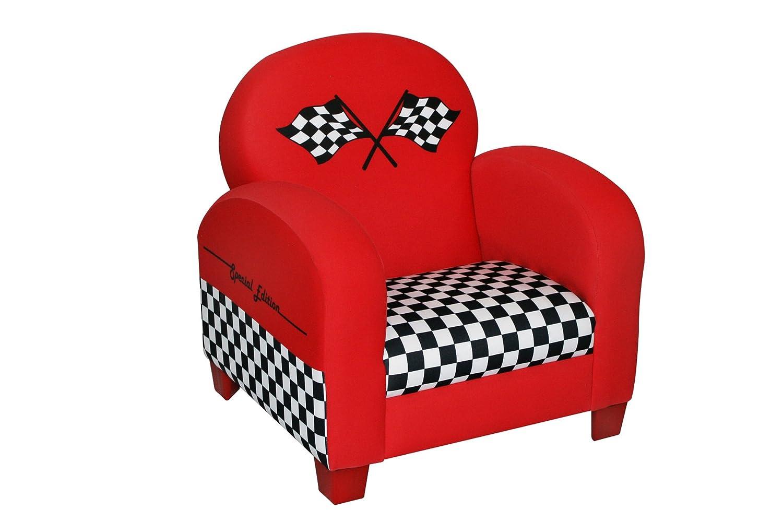 amazoncom newco kids racing car chair red baby