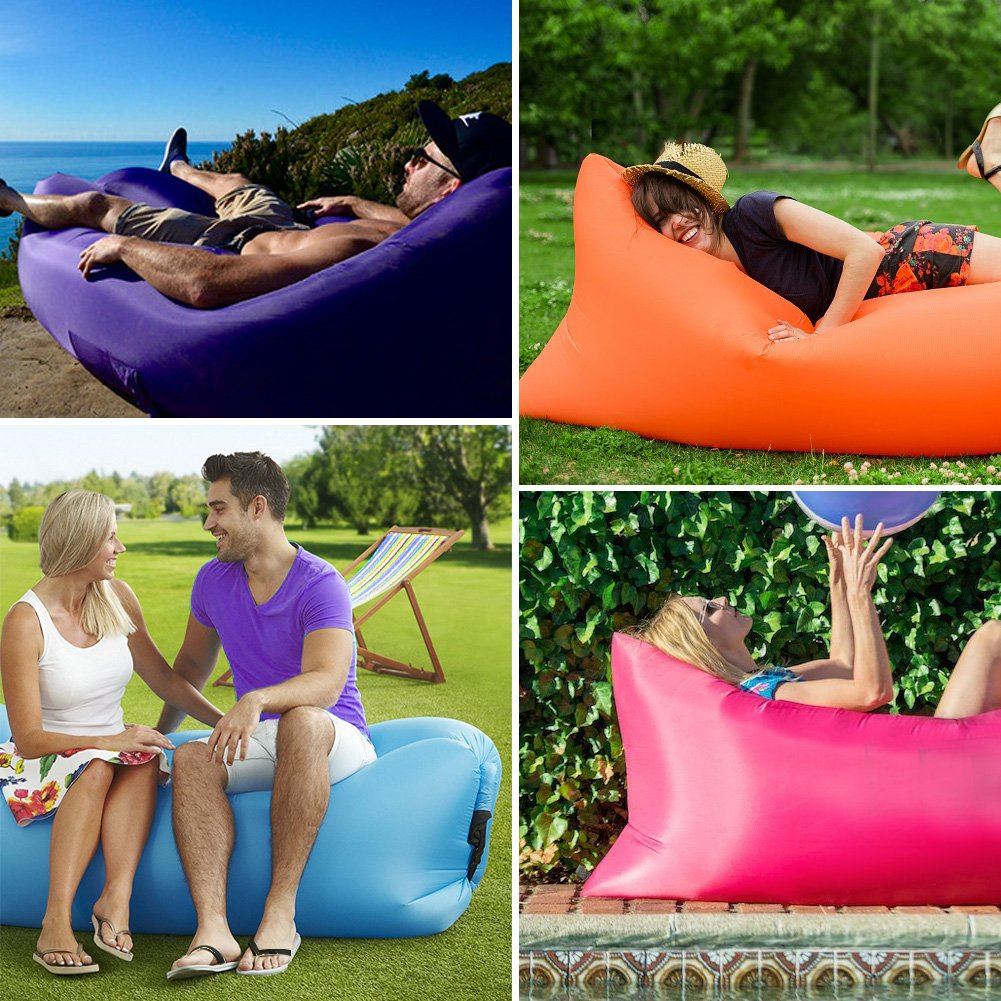 Amazon.com: Sofá inflable portátil Inflatable ...