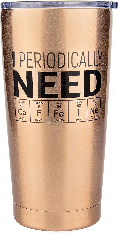 Chemistry Gifts- Coffee Tumbler/Travel Mug 20oz - Gift Idea for Teachers, Biology, Nerd, Science Teacher, Biology, For Adults, Professor, Women, Men, Geek