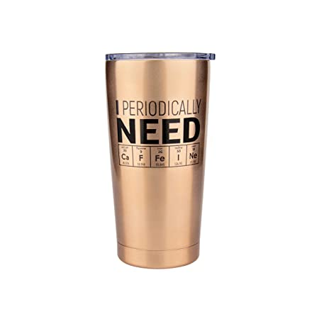 Chemistry Gifts- Coffee Tumbler for Teachers, Biology, Nerd