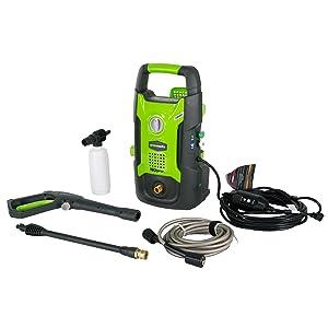 Greenworks 1600 PSI 13 Amp 1.2 GPM Pressure Washer GPW1602 (Renewed)