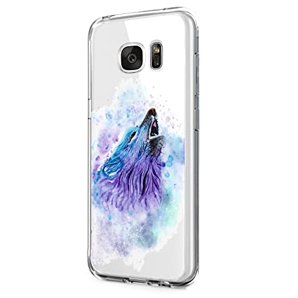Samsung Galaxy S7 Edge Carcasa,TPU Funda Transparente ...