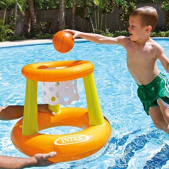 Intex 58504NP - Canasta hinchable y flotante 67 x 55 cm