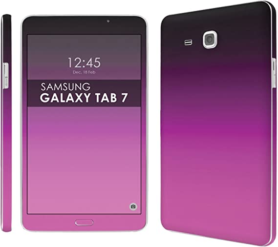 Amazon Com Decal Skin Matching Wallpaper Gradient Hot Pink Compatible For Samsung Galaxy Tab A 7 0 Screen 7 Screen