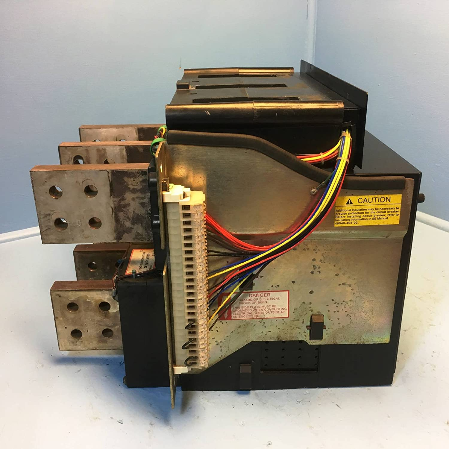 Square D Sefg30 3000a Sef Circuit Breaker 600v 3p S930lsig 3000 Amp Basics Of Breakers For Electrical Engineers Additional Info Lsig Ground Industrial Scientific
