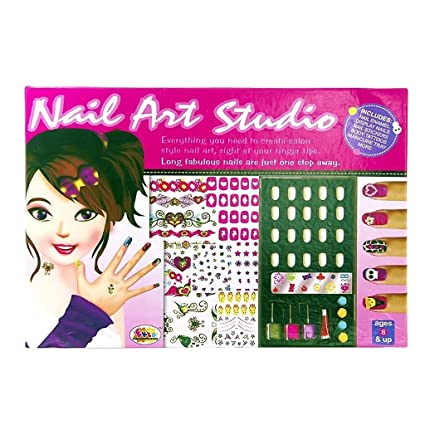 Online Shopo Kart Ekta Nail Art Studio Big Box For Baby Girls