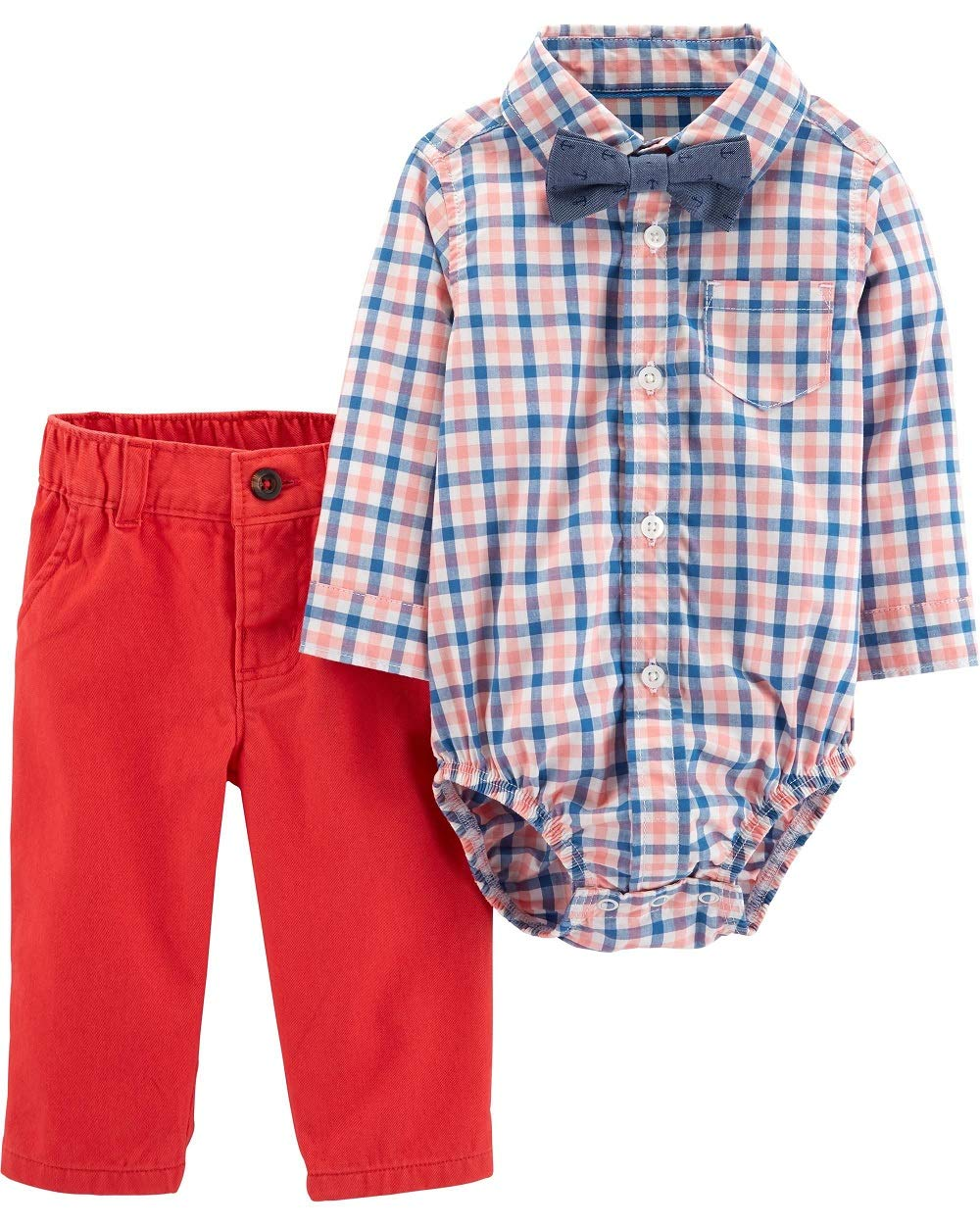 Carter's 3-Piece Dress Me Up Set for Boys Size 24 Months Red Orange by Carter's