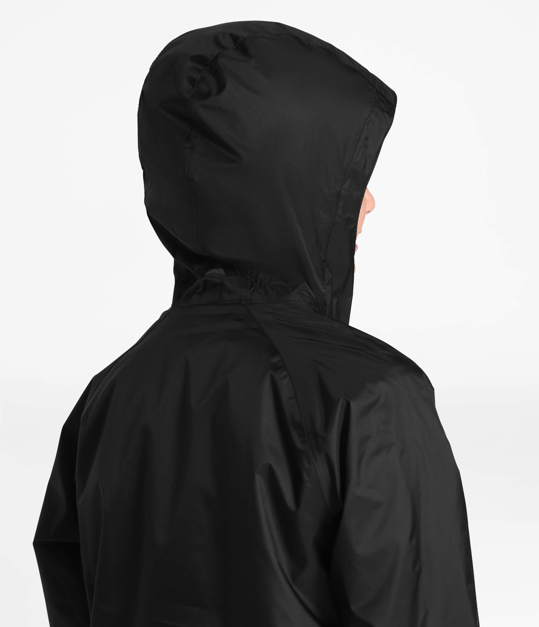 The North Face Kids Boy's Zipline Rain Jacket (Little Kids/Big Kids) TNF Black Large by The North Face (Image #4)