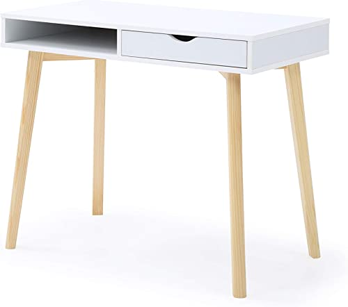 AC Pacific Austin Desk White