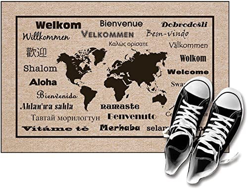 High Cotton Welcome Doormats – International Language For Welcome