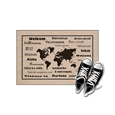 High Cotton Welcome Doormats - International Language For  Welcome