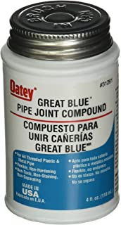 Oatey 31261 Great Blue Pipe Joint Compound, 4 fl.Ounce