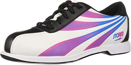 White//Black//Multi Storm Womens Skye Bowling Shoes