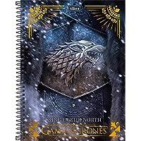 Caderno, Tilibra, Game Of Thrones, 14.664, 1 Matéria, Pacote com 4 Unidades