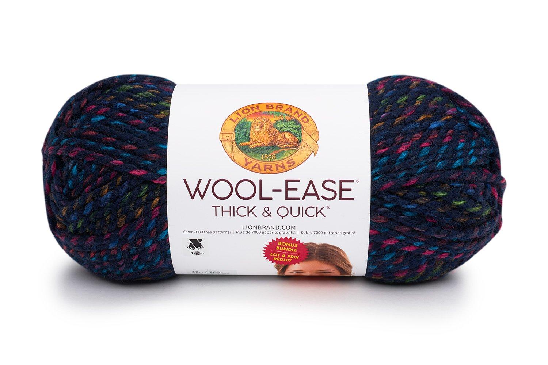 Lion Brand Yarn Company 641-617 - Ovillo de lana gruesa y rápida ...
