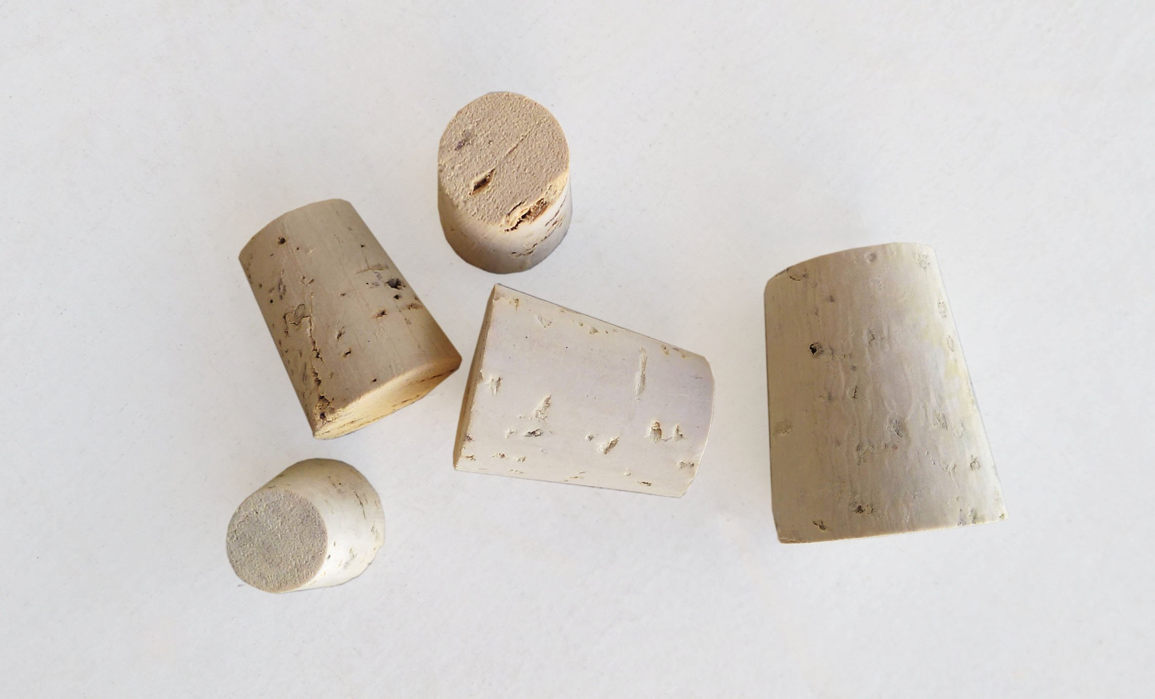 Small bag of Mixed Regular Length (RL) Natural Tapered Corks Bag of 45 (RL04, RL05, RL06, RL08, RL10)